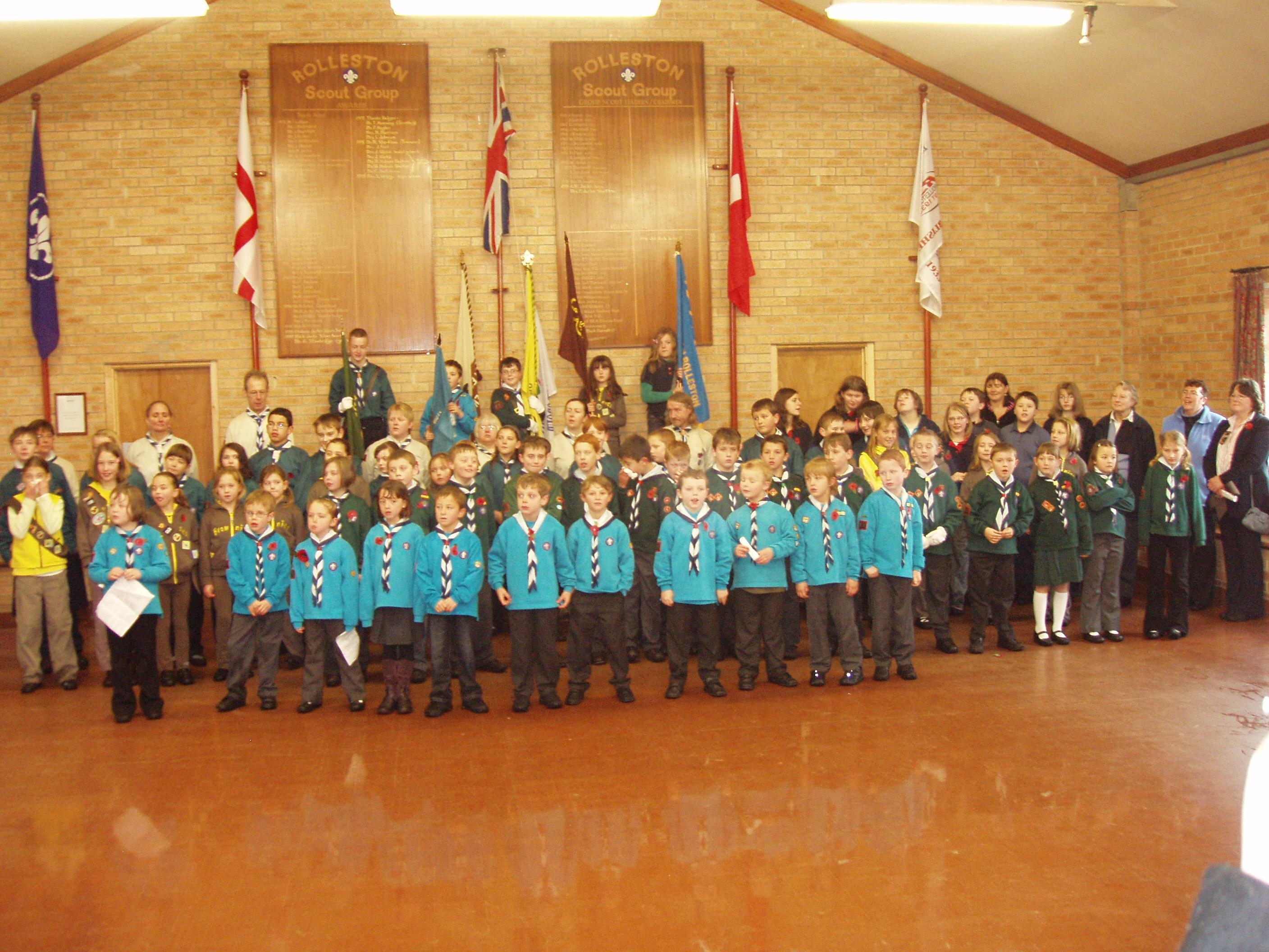 Rolleston Scout Group 2008