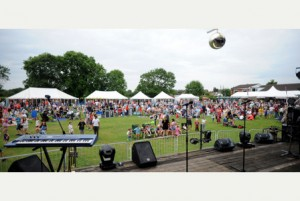 12/07/14 Rollestonbury - Station Road, Rolleston Annual Music Festival' at the Scout Hut in Rolleston..